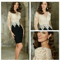 2016 Vestido Elegant Scoop Beaded Ruched Cocktail Dress Long Plus size Mother of the bride dresses Formal Evening Gowns