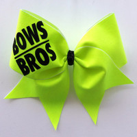 Bows Over Bros Cheer Bow