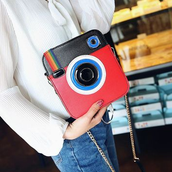 Cute Unique Camera Shoulder Bag