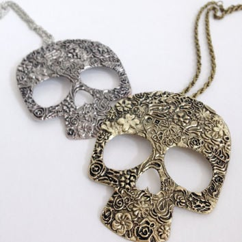 Skull Necklace Free Shipping