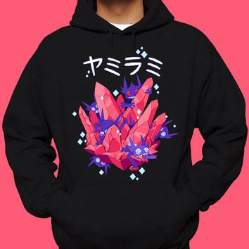 Sableye & Mega Sableye Pokemon Hoodie Gem Thief Pokemon Sweatshirt