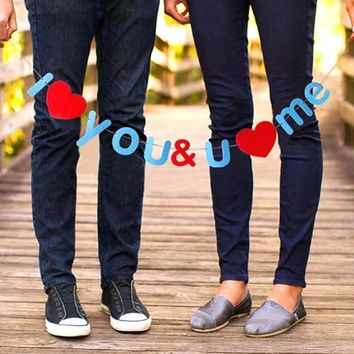 I Love You and You Love Me DIY Garland | Photo Booth Prop Wedding Decor