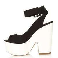 STAR Ankle Strap Platform - Heels  - Shoes