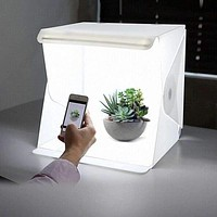 LED Light SoftBox Camera