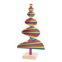 Infinite Tree in Rainbow by Areaware - Pop! Gift Boutique