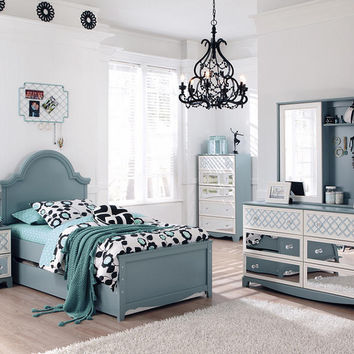 Kylie Twin Size Panel Bed