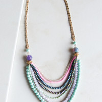 Layer It All On Me Beaded Necklace