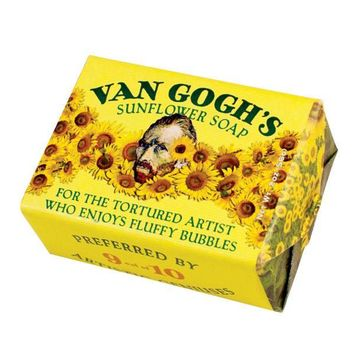 PHILOSPHERS GUILD Van Gogh's Sunflower Soap