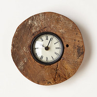 Reclaimed Wood-Wheel Clock