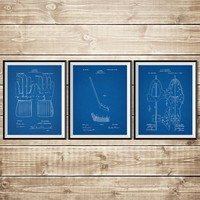 Hockey Wall Art, Patent Print Group, Hockey Wall Print, Hockey Stick Art, Hockey Art Print, Hockey Stick Poster,Hockey Art, INSTANT DOWNLOAD