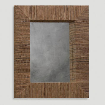 Water Hyacinth Rectangular Mirror - World Market