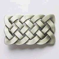 Irish Celtic Knot Belt Buckle