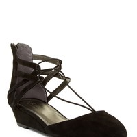Kenneth Cole Reaction   Why Not Wedge Lace Sandal   HauteLook
