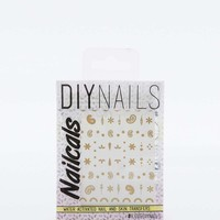 Gold Mehandi DIY Nail Foils - Urban Outfitters