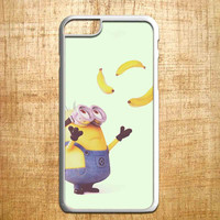 despicable me minions banana Atraction for iphone 4/4s/5/5s/5c/6/6+, Samsung S3/S4/S5/S6, iPad 2/3/4/Air/Mini, iPod 4/5, Samsung Note 3/4, HTC One, Nexus Case*PS*