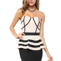 Papaya Clothing Online :: LINED PEPLUM DRESS