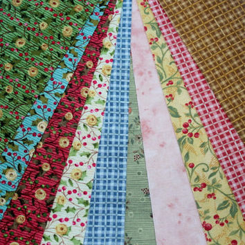 Jelly Roll - Assorted Nancy Halvorsen Quilting Fabrics - 10 strips 1 of each fabric Lot 2