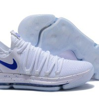 Nike KD 10 Red Blue For Sale