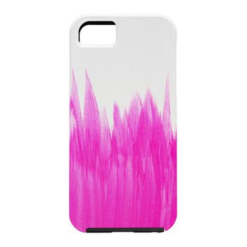 Allyson Johnson Pink Brushed Cell Phone Case