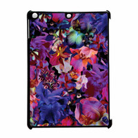 Lush Floral Pattern Beaming Orchid Purple iPad Air Case