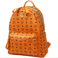 MCM SS12 STAR VISETOS MEDIUM IN ORANGE