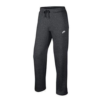 Nike Mens Open Hem Fleece Club Sweatpants