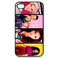 UVW Little Mix Snap-on Hard Case Cover Skin compatible with Apple iPhone 4 4S 4G