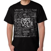 Fan Art Pierce The Veil Song Lyric for Hoodie mens and Girl ,T shirt Mens, T shirt Girl, Funny Shirt, Funny Hoodie, Funny sweatshirt