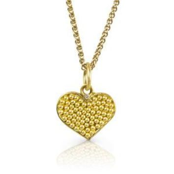 Love Always Tiny Heart Necklace with Diamond