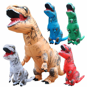 Adult Inflatable Dinosaur Cosplay T REX Costume