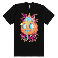 Spook Out-Unisex Black T-Shirt