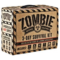 Every Day Carry Zombie 3 Day Survival / Disaster Preparedness Kit 5 Year Storage