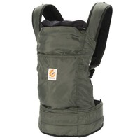 Ergobaby Travel Collection Baby Carrier - Stowaway - Olive (BC346001NL) | Ergobaby