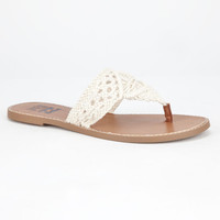 Billabong Seascape Daze Womens Sandals Beige  In Sizes