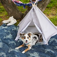 Free People Canvas Pet Teepee