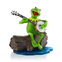 """Kermit the Frog """"The Rainbow Connection"""" The Muppets 2013 Hallmark Ornament"""
