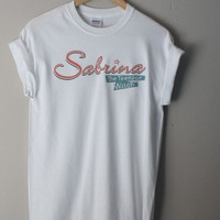 sabrina the teenage witch t shirt cat 90s retro hipster vintage salem tumblr vtg urban outfitters 1990s