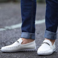 Leather Loafer Boat shoes/ Zapatos