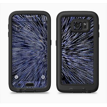 The Purple Zooming Lights Full Body Samsung Galaxy S6 LifeProof Fre Case Skin Kit