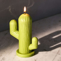 WIK Studios Cactus Shaped Candle | Urban Outfitters