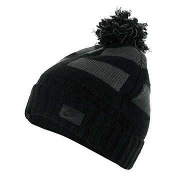 Nike Pom Winter Beanie Black/White 628845-010 One Size