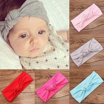 WHOLE SALE CUTE KIDS GIRL BABY TODDLER CROCHET BOW HEADBAND HAIR BAND ACCESSORIES HEADWEAR