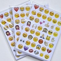 NEW VERSION 20sheets/Pack Emoji Sticker Pack-Instagram,Facebook,Twitter iPhone Emoji sticker- around 960 Stickers