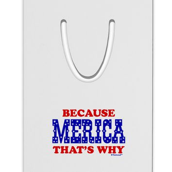 Because Merica That's Why Aluminum Paper Clip Bookmark