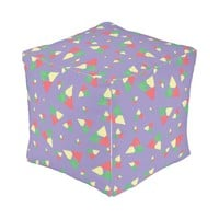 Triangle 2 outdoor pouf