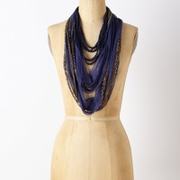 Beaded Manori Scarf Necklace