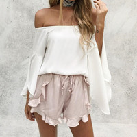 Summer Casual Pants Chiffon Shorts