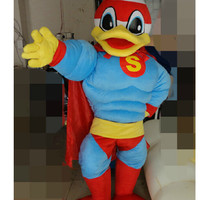 Super Muscular Duck Mascot Costume,Cosplay Costumes,Animal Costumes,Costumes for Adults,Clothing,Party Costumes,Halloween Costumes,Cos Shows