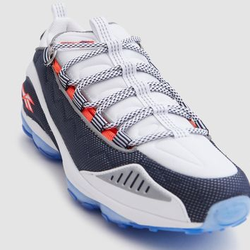 Reebok / DMX Run 10 in White/Infinite Blue