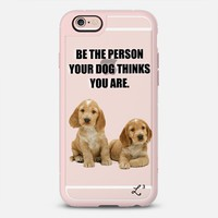 Be The Person Your Dog Thinks You Are - Cocker Spaniel iPhone 6s case by Love Lunch Liftoff | Casetify